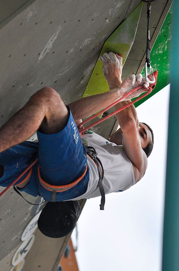Kletter-Wettkampf: Rock Master Arco am Gardasee (Bilder International Open Lead) 59