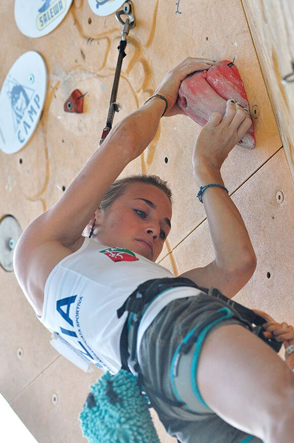 Kletter-Wettkampf: Rock Master Arco am Gardasee (Bilder International Open Lead) 62