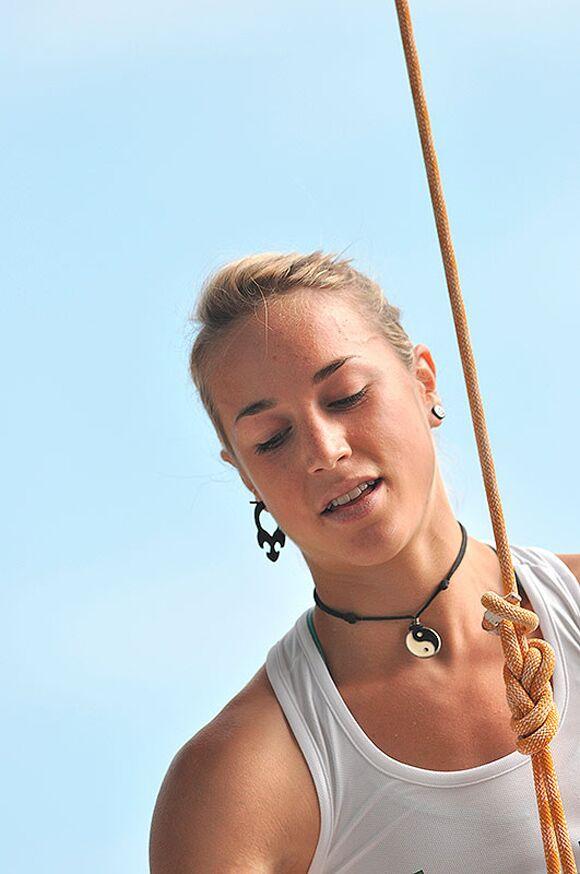 Kletter-Wettkampf: Rock Master Arco am Gardasee (Bilder International Open Lead) 63