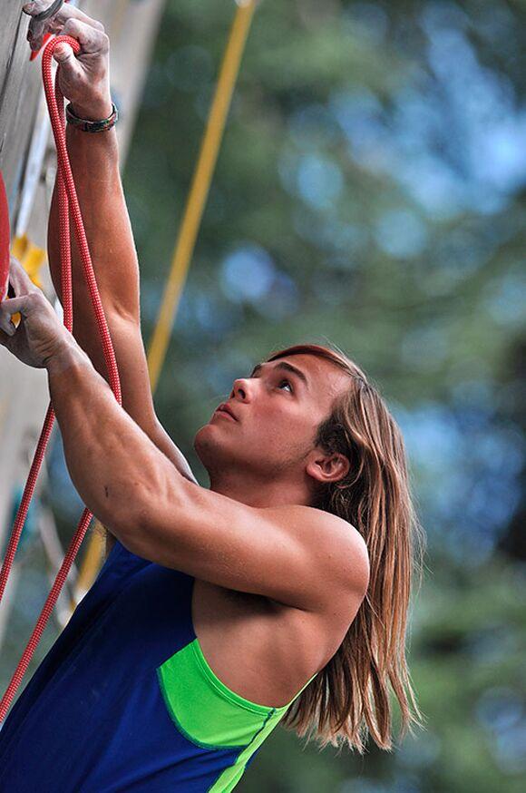 Kletter-Wettkampf: Rock Master Arco am Gardasee (Bilder International Open Lead) 64