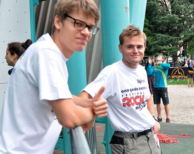 Kletter-Wettkampf: Rock Master Arco am Gardasee (Bilder International Open Lead) 71