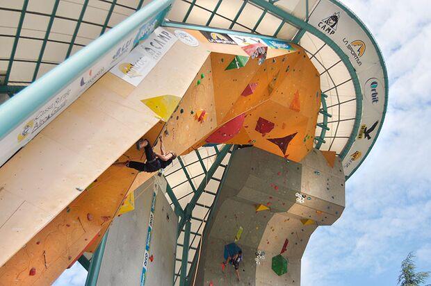 Kletter-Wettkampf: Rock Master Arco am Gardasee (Bilder International Open Lead) 72