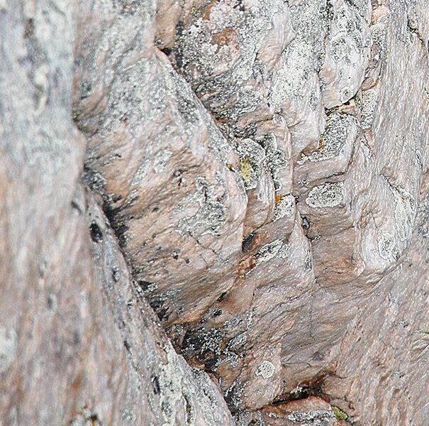 Kletterfelsen: Quartzit bei Briancon