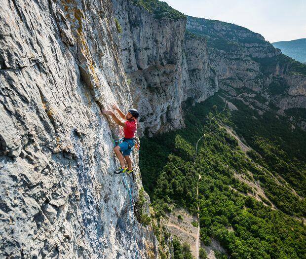Klettergebiete um Montpellier