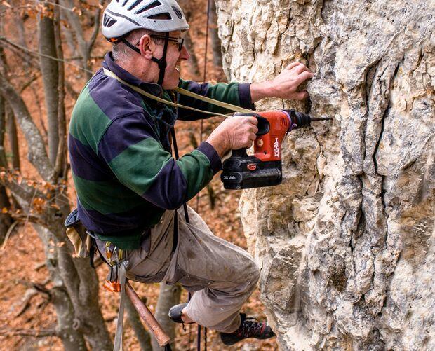 Klettern am Fels - Sicherheit