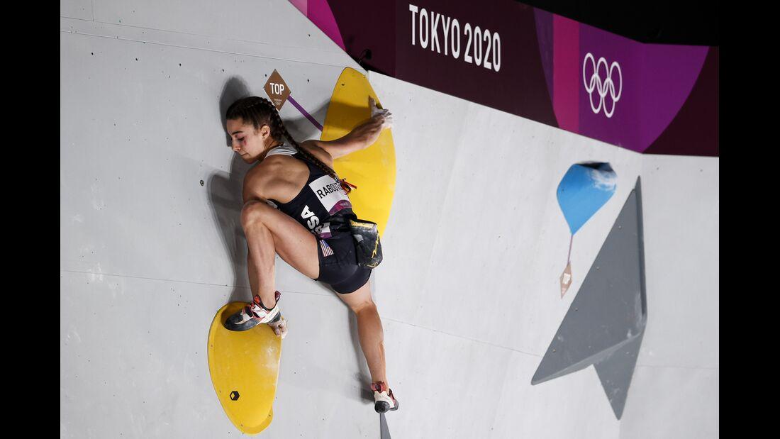 Klettern bei Olympia Tokio