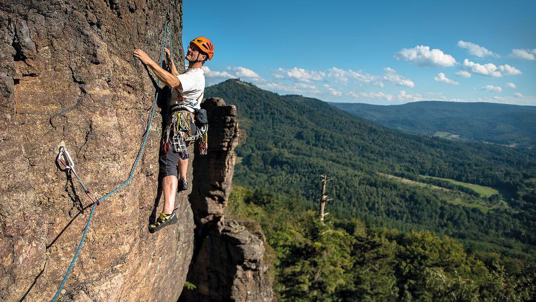Klettern im Battert