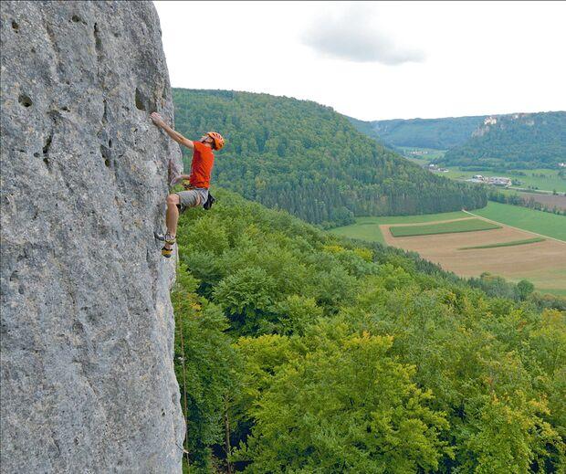 Klettern im Donautal