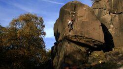 Klettern im Hard Grit
