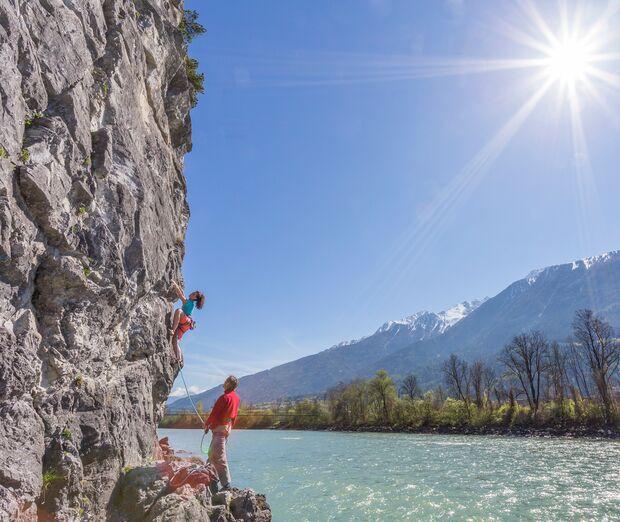 Klettern im Inntal Tirol