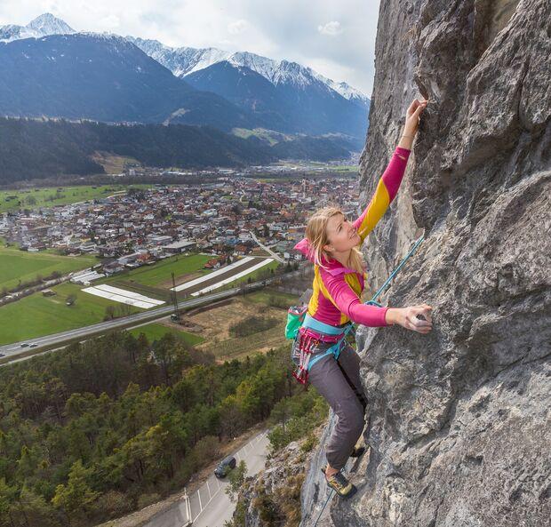 Klettern im Inntal