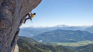 Klettern im Südosten Bayerns: die besten Klettergebiete