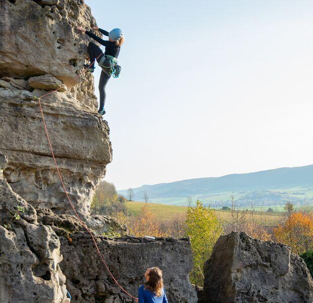 Klettern im Weser-Leine-Bergland