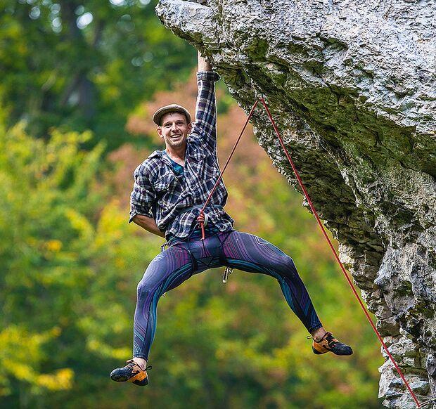 Klettern im polnischen Jura