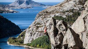Klettern in Flatanger