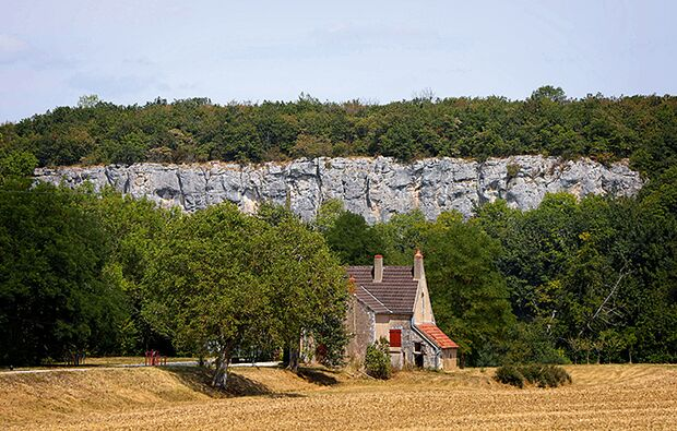 Klettern rund um Dijon