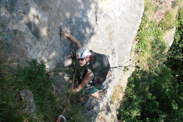 Kletterrucksack-Praxistest von Melanie 12