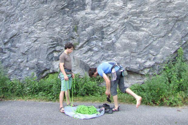 Kletterrucksack-Praxistest von Melanie 15