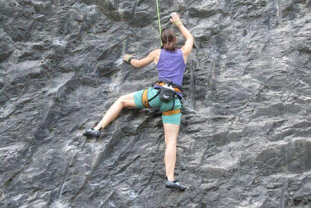 Kletterrucksack-Praxistest von Melanie 18