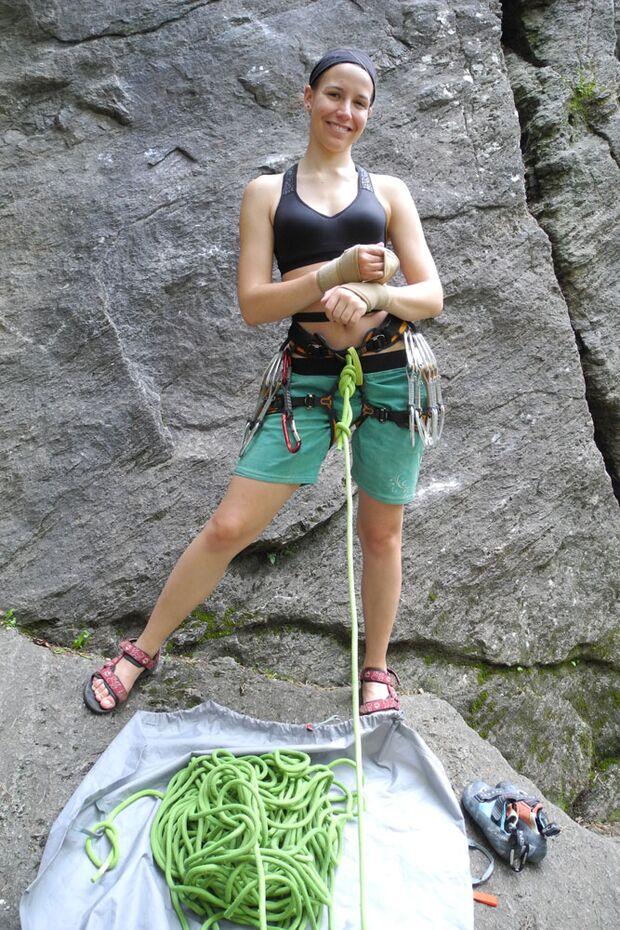 Kletterrucksack-Praxistest von Melanie 19