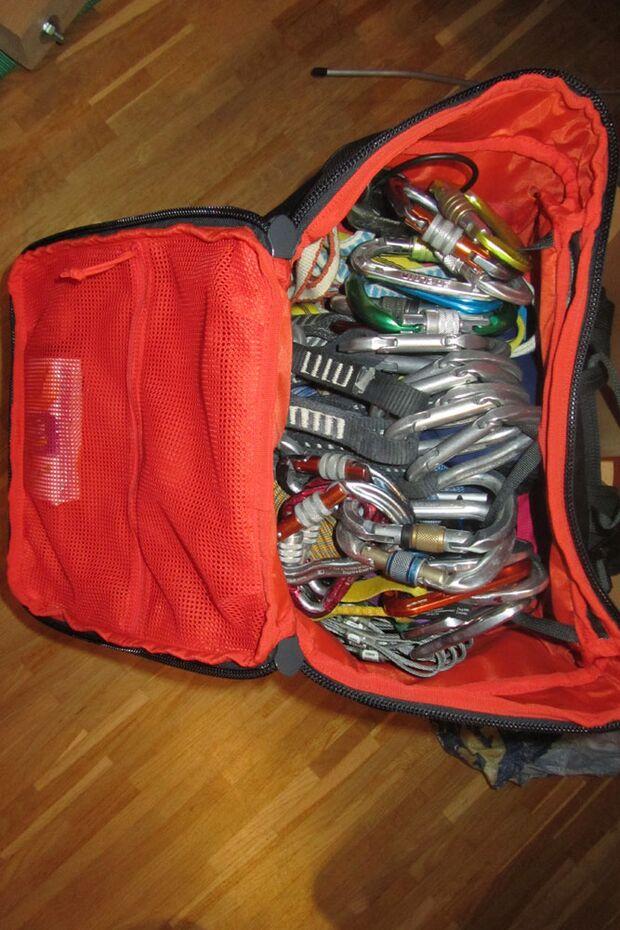 Kletterrucksack-Praxistest von Melanie 24