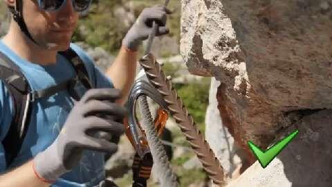 Klettersteig-Knowhow + häufige Fehlerquellen am Berg