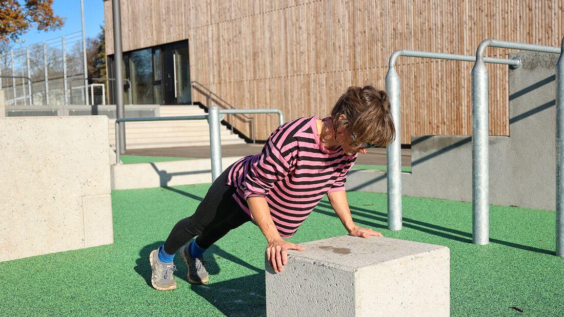 Klettertraining: Übungen