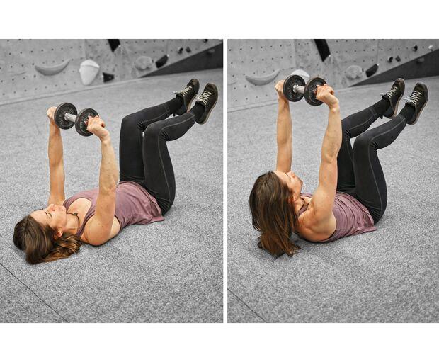 Klettertraining mit Gewichten – Hanteltraining fürs Klettern