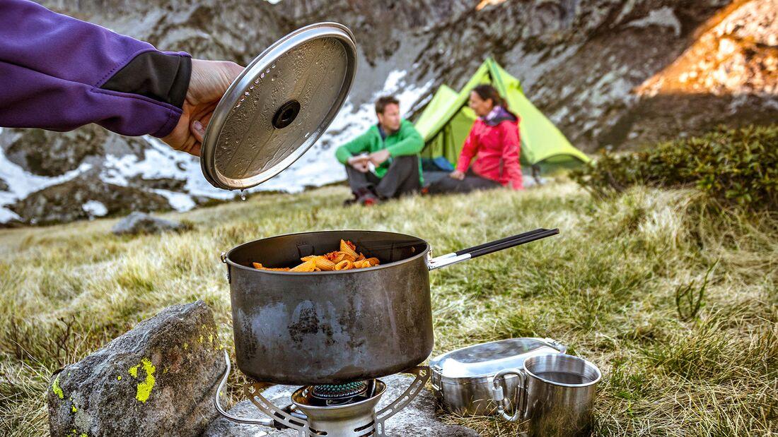 Kochen im Camp