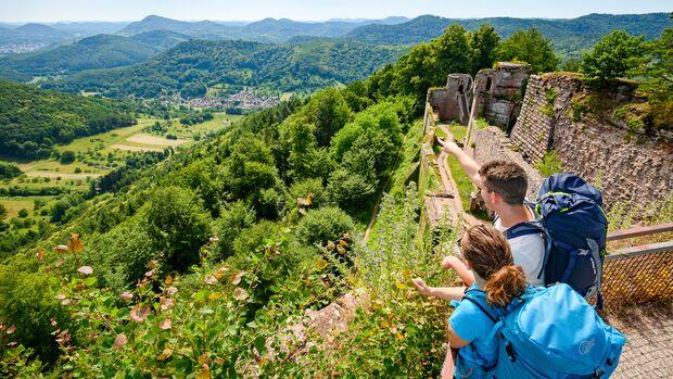 Komoot Sonderheft 04/2021: Trekking Pfalz