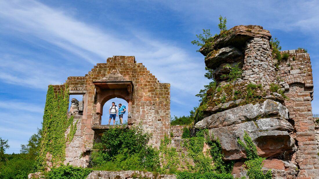 Komoot Sonderheft 04/2021: Trekking in der Pfalz