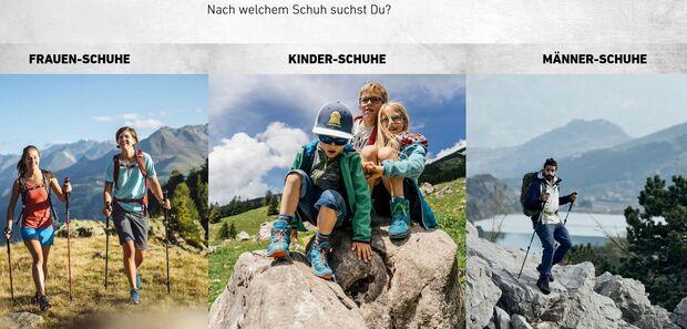 LOWA-Schuhfinder
