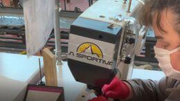 La Sportiva stellt während der Corona-Krise Atemschutzmasken her