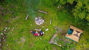 Lagerplatz - Zeltplatz am Fluss