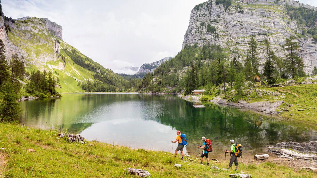 Lahngangsee, im steirischen Salzkammergut