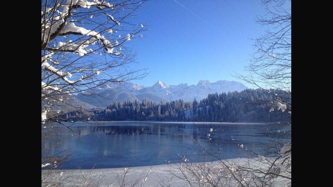 Langlauf in der Alpenwelt Karwendel 3