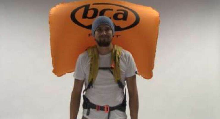 Lawinen-Airbag-Rucksack-Test - Float-System