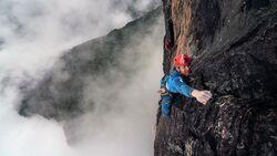 Leo Houlding am Mount Roraima Venezuela