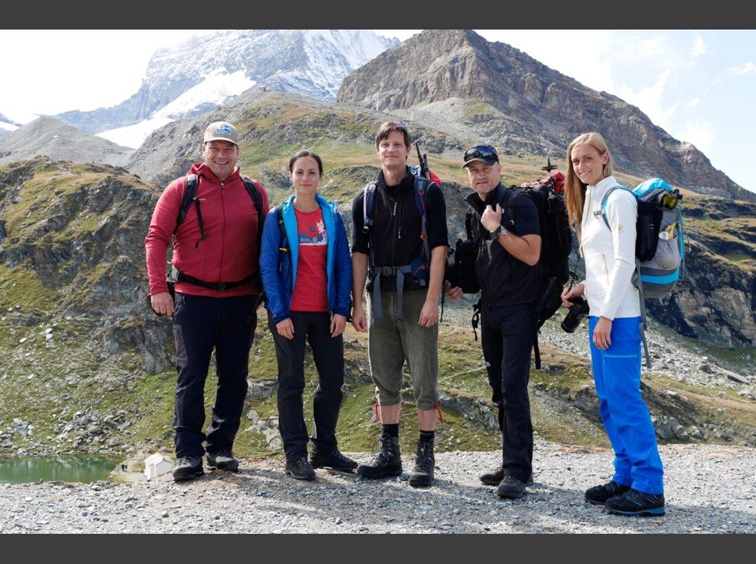 Leser Tour Days 2015 am Matterhorn 5