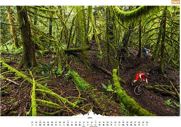 MB 2016 Kalender Best of Mountainbike 2017 April