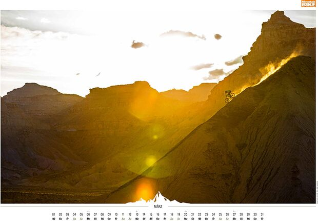 MB 2016 Kalender Best of Mountainbike 2017 März