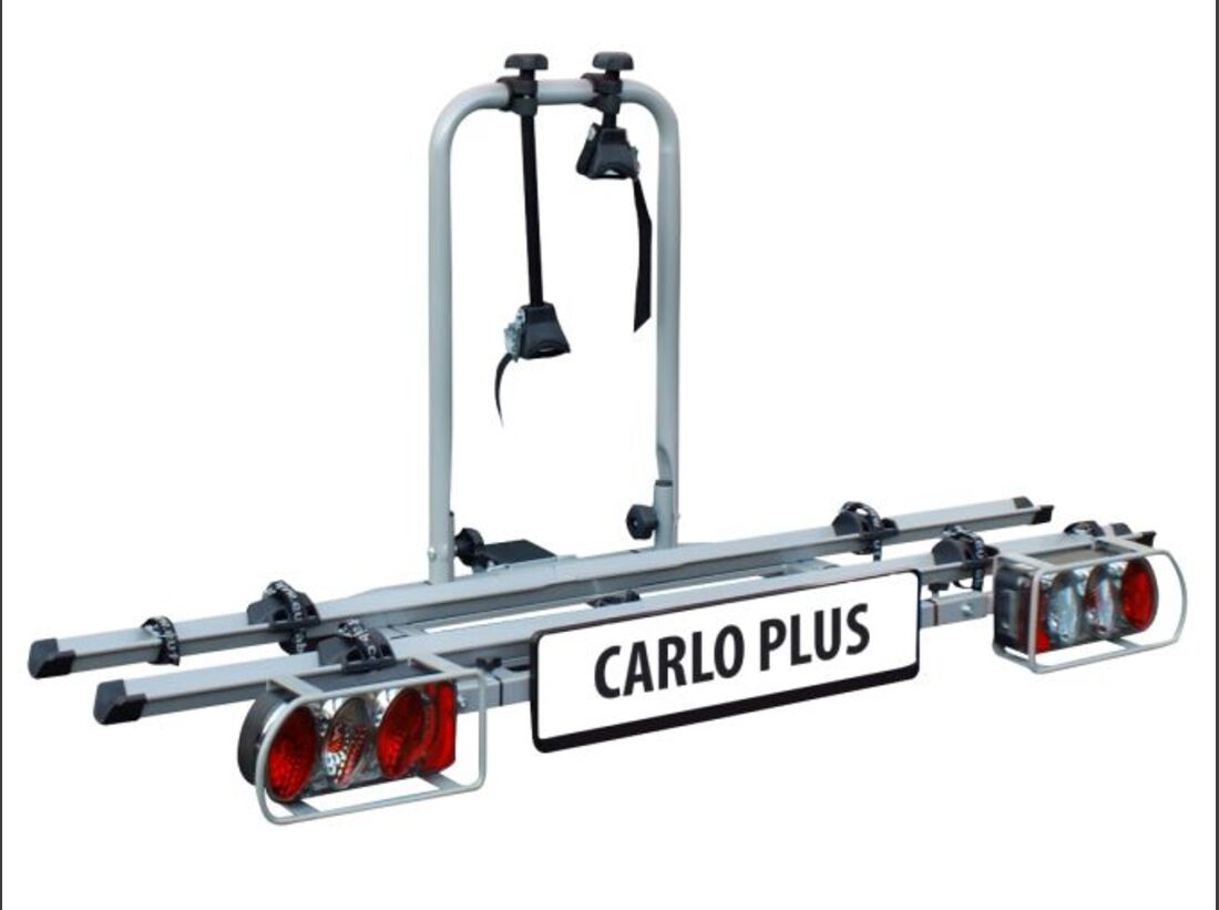 MB Fahrradträger Marktübersicht Anhängerkupplungsträger 2016 Eufab Carlo Plus / Bullwing SR2