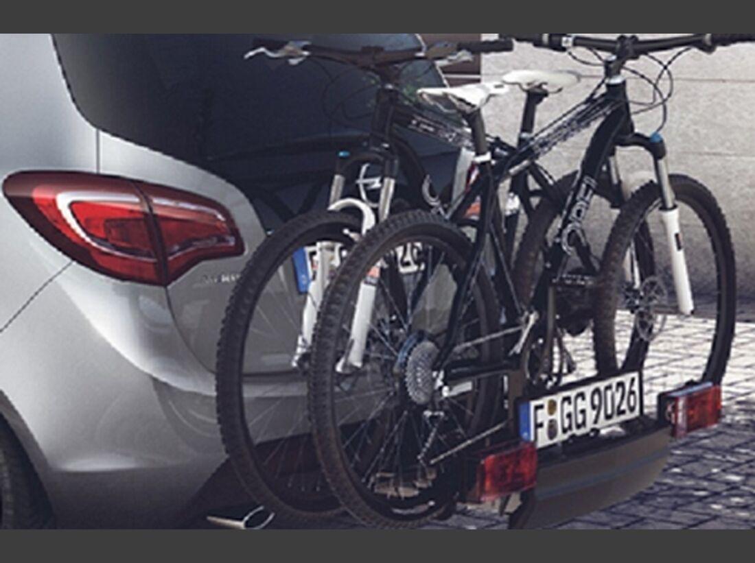 MB Fahrradträger Martübersicht Deichselträger 2016 FlexFix Opel Meriva