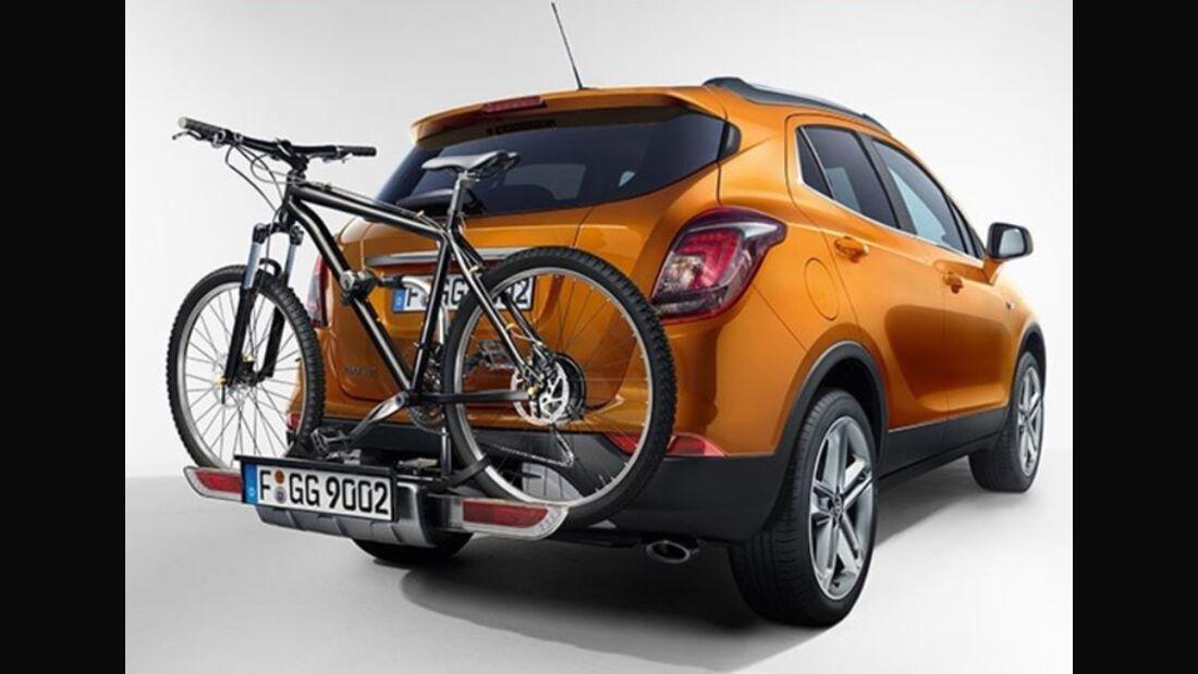 MB Fahrradträger Martübersicht Deichselträger 2016 FlexFix Opel Mokka X