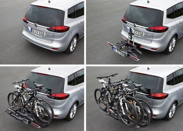 MB Fahrradträger Martübersicht Deichselträger 2016 FlexFix Opel Zafira