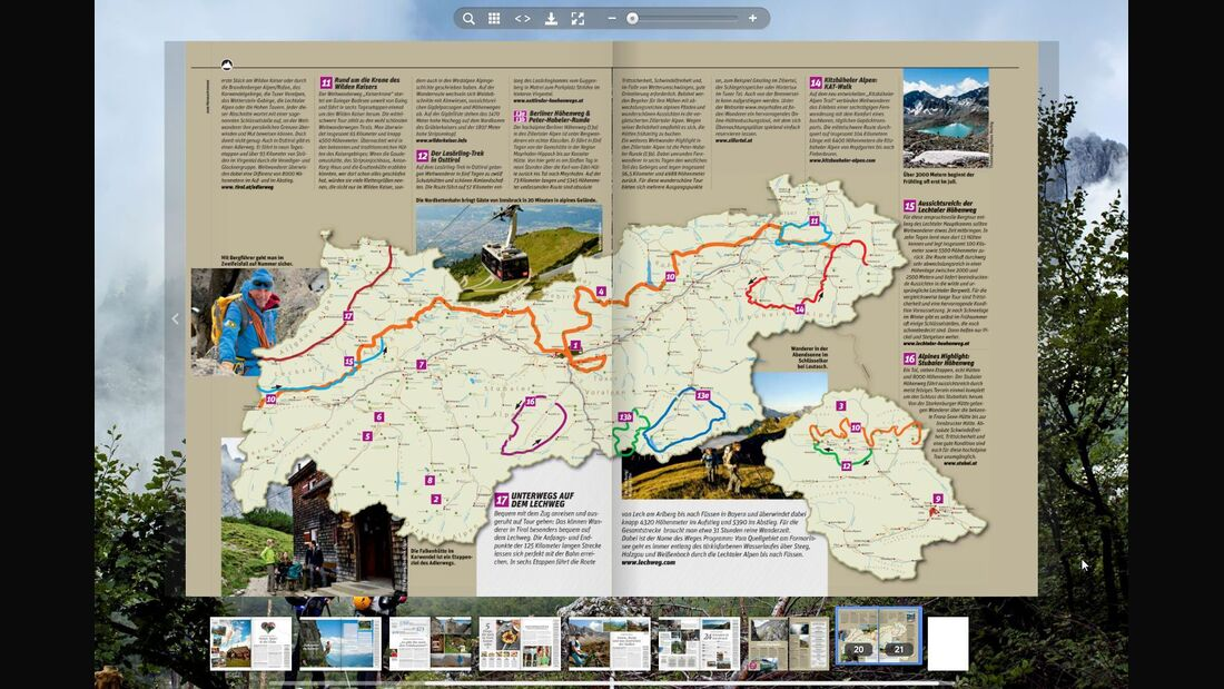 MB OD KL Tirol Active Guide E-Paper TEASER  NUR TEASER