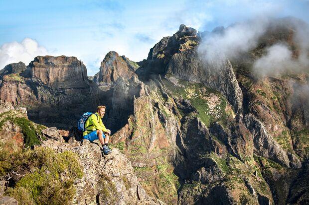 Madeira Bergwandern Frühling