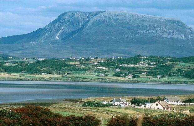Malerische Landschaft im County Donegal, Irland