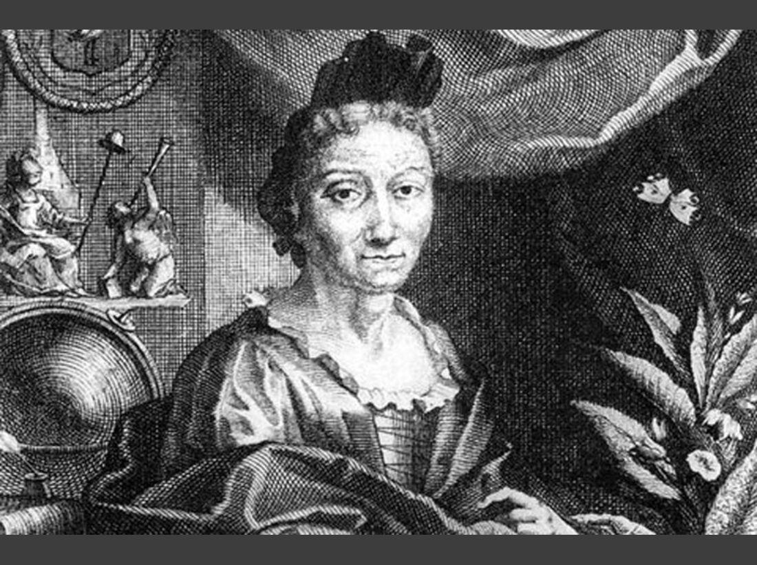 Maria Sibylla Merian 1647-1717
