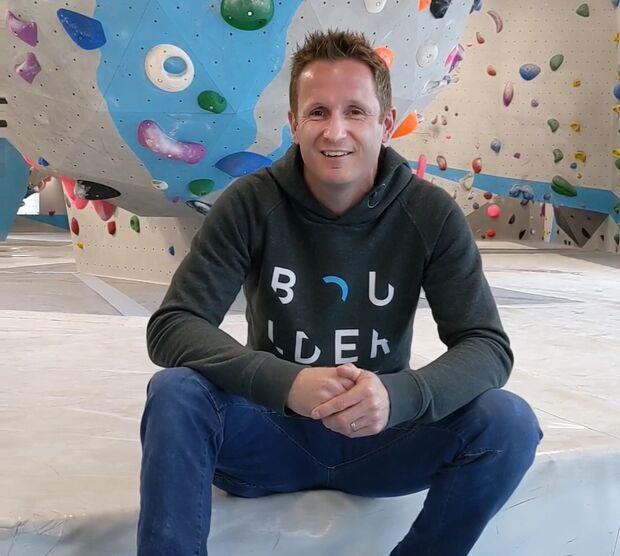 Markus Grünebach in der Boulderwelt